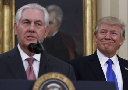 ترامب يقيل وزير الخارجية ريكس تيلرسون
