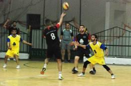 دير البلح يحرز أول فوز على شباب خان يونس في كرة اليد