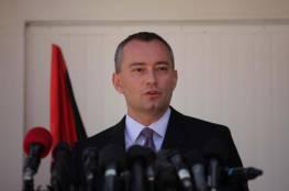 """ميلادينوف يدين تصريحات القيادي في حركة حماس """" السنوار """""""