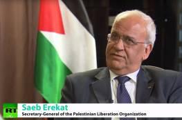 عريقات : استمرار الانقلاب في غزة كارثة سياسية وانسانية