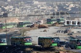 موسكو تعلن إنتهاء عمليات إجلاء المسلحين وعائلاتهم من شرق حلب