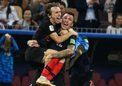 مودريتش : قلة احترام الإنجليز لـ منتخب كرواتيا حفزتنا للفوز