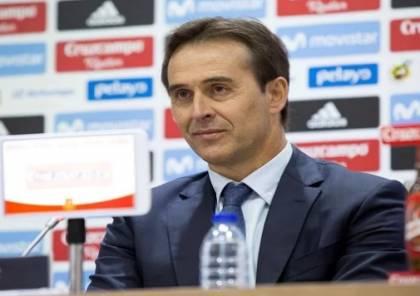 رسميا.. ريال مدريد يعلن تعيين جولين لوبيتيجي مدربا جديدا