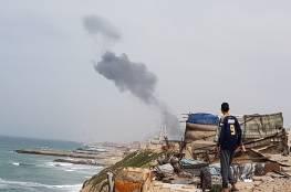"""صواريخ من غزة على""""ساحل عسقلان"""" والاحتلال يقصف مواقع للمقاومة شمال القطاع"""