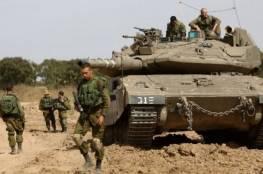 جيش الإحتلال بمحيط غزة يستنفر قواته ويعلن حالة التأهب القصوى تحسبا من رد حماس