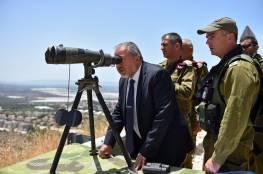 ليبرمان يحذر جبهتي غزة ولبنان من التصعيد
