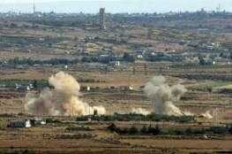 الاحتلال يقصف مدفعا سوريا ردا على سقوط قذيفة هاون في الجولان