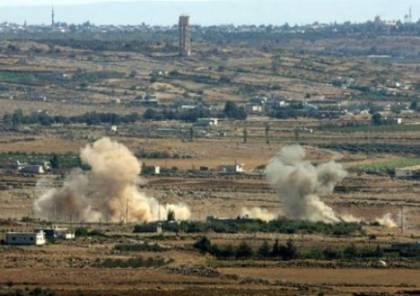سانا : قصف مدفعي إسرائيلي على عدة مواقع في القنطيرة