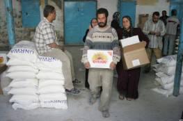 الاونروا : نقدم مساعدات غذائية لمليون لاجئ فلسطيني بغزة