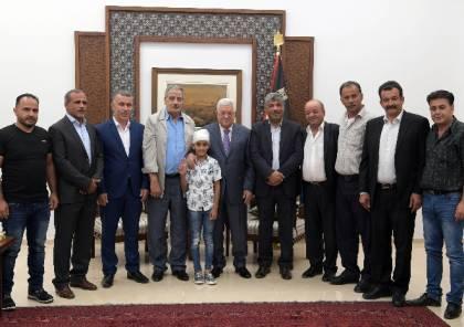 الرئيس عباس يؤكد على ثبات الموقف الفلسطيني في مواجهة صفقة القرن الأمريكية