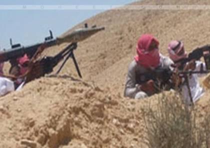 استشهاد جنديين مصريين بتفجير مدرعة في رفح