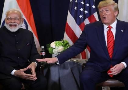 تعرف على تصريح ترامب الذي جحظت بعده عينا رئيس وزراء الهند!!