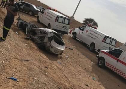 مصر: وفاة 6 أشخاص وإصابة 27 آخرين في انقلاب حافلة