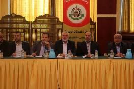 هنية يلتقي قادة الفصائل بغزة ويضعهم في صورة مباحثات القاهرة