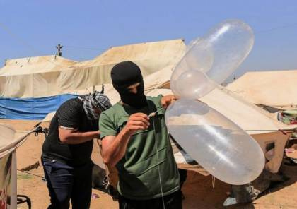 """انفجار """"بالون مفخخ"""" اطلق من قطاع غزة في مستوطنات الغلاف"""