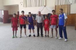 ناشئين كرة الطاولة يستعد في غزة للبطولة العربية في القاهرة