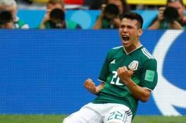المكسيك يحقق فوز تاريخي على بطل العالم