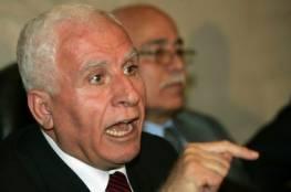 """الأحمد ينفي أي ترتيبات لعقد لقاء فلسطيني – إسرائيلي"""" مرتقب"""