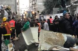 """اشلاء مقطعة وانفجار متعمد.. تفاصيل واسباب """"الحادث المُروّع"""" بحي الصبرة جنوب غزة"""