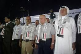 صور... وقفة تضامنية مع الجيش والدولة المصرية ضد الارهاب في قطاع غزة