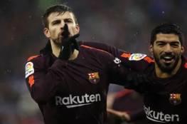 الاتحاد الإسباني يدرس إيقاف بيكيه بسبب أحداث مباراة إسبانيول