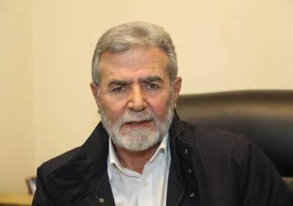 النخالة: لا خطوط حمراء في الحرب مع العدو..والرئيس الفلسطيني محاصر مالياً ومعزول عربياً