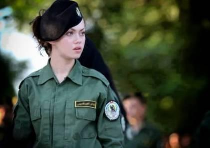 شرطية فلسطينية تثير الجدل بجمالها المطلق ـ شاهد