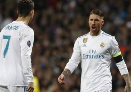 لاعبو ريال مدريد لا يتوقفون عن استفزاز رونالدو