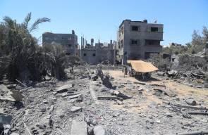 دمار احدثه الاحتلال بغزة اليوم..تصوير بلال احسنه
