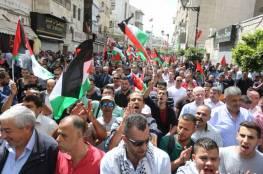 إضراب شامل اليوم الخميس ومسيرات في مراكز المدن الفلسطينية