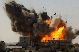 19 غارة جوية على غزة واصابة مواطنين في خانيونس