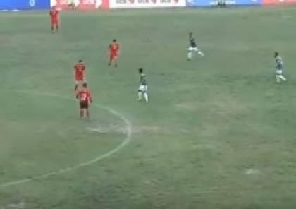 فيديو.. المنتخب الوطني يصعد لنهائي كأس بانغاباندو
