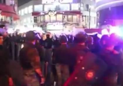 """""""مدى"""": ما لا يقل عن 17 صحفيا تعرضوا للاعتداء خلال مسيرة رام الله"""