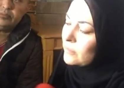 """شاهد.. رسالة معبأة بالوجع من والدة الشهيد الصحفي """" احمد ابو حسين""""..ماذا قالت؟"""