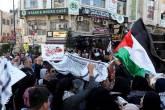 مواطنون في رام الله يلجأون للضجيج لإسماع العالم رفضهم قرار ترامب