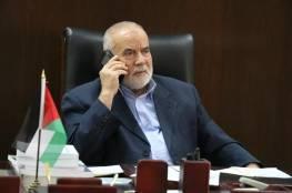 بحر: مجزرة الرواتب تطبيق لصفقة القرن في فصل الضفة عن غزة