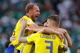 فيديو.. السويد تكتسح المكسيك بثلاثية ليتأهلا إلى ثمن نهائي المونديال