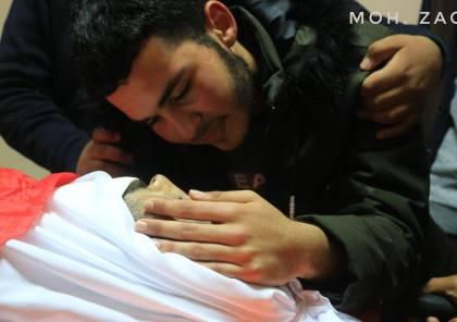 صور : تشييع جثمان الشهيد الصحفي احمد أبو حسين
