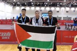 فلسطين ستشارك في بطولة العالم لكرة الطاولة