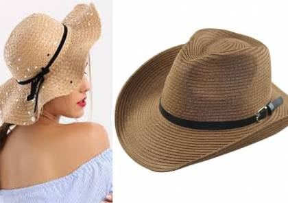 قبعة القش الضخمة لإطلالة صيفية فخمة