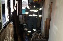 إضرام النار بفندق في طور الترميم في عكا