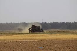 الاحتلال يطلق النار تجاه المزارعين ورعاة الاغنام شرق خان يونس