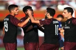 ميلان يفوز في اللحظات الأخيرة وديًا أمام برشلونة