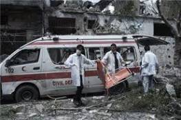 الاحتلال يستهدف سيارة اسعاف شمال قطاع غزة