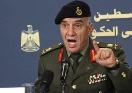 ضميري : القينا القبض على مطلوبين هددوا بتدمير مراكز أمنية فلسطينية في الخليل