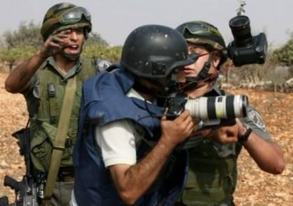 نقابة الصحفيين تحذر من تصاعد اعتداءات الاحتلال ضد الصحفيين