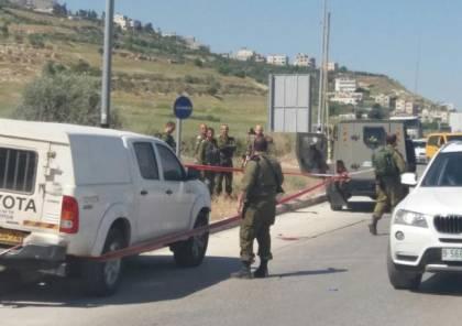 إصابة شاب بجراح حرجة بنيران الاحتلال بزعم عملية طعن قرب حوارة