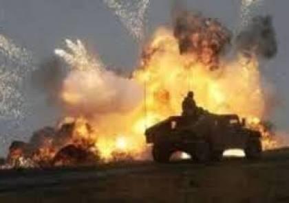 استشهاد واصابة جنود مصريين في تفجير مدرعة بسيناء