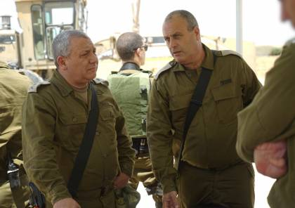 بالصور.. ماذا قال رئيس الأركان العامة إيزنكوت خلال زيارته حدود غزة