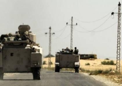 استشهاد نقيب بتفجير عبوة ناسفة بمدينة العريش